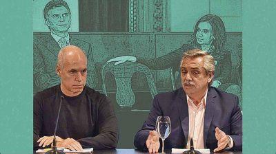 Macri-Cristina vs. Larreta-Fernández