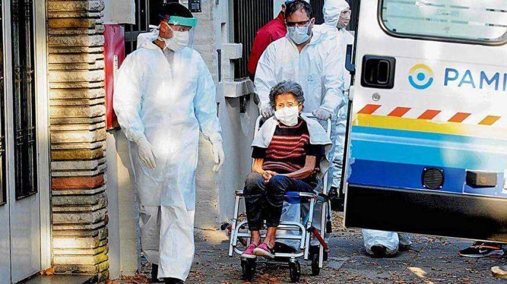 El PAMI presentó el programa Residencias Cuidadas: ya son 152 los abuelos infectados