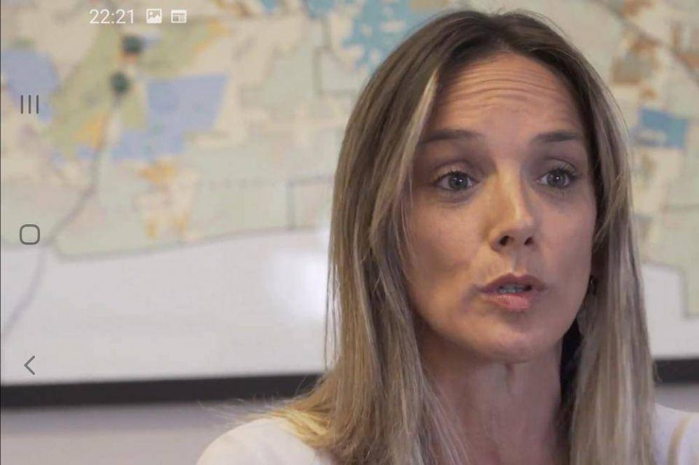 """Malena Galmarini: """"En el barrio 31 va a haber caudal y presión de agua para todo el barrio"""""""