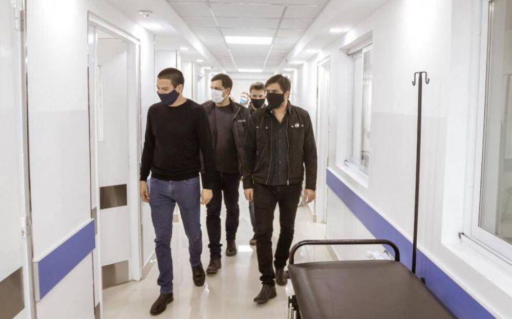 Bianco visitó el Partido de la Costa para seguir de cerca los trabajos de prevención de coronavirus
