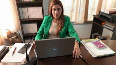 """Débora Galán: """"La Emergencia en violencia de género viene a reparar una problemática de muchos años"""""""