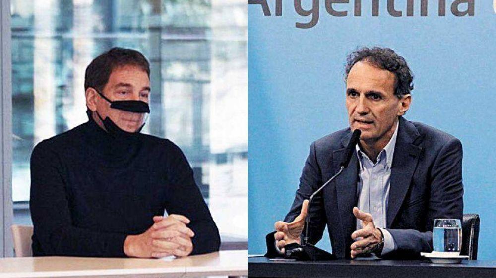 Santilli respondió críticas por la apertura y Katopodis pidió