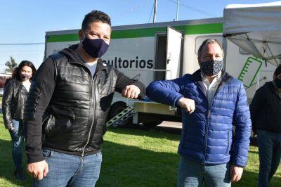 """Gustavo Menéndez: """"Salimos a la calle para descubrir nuevos casos"""""""