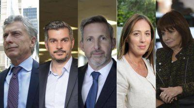 Peña, Frigerio, Vidal y Bullrich, las espadas de Macri: del silencio a las disputas internas