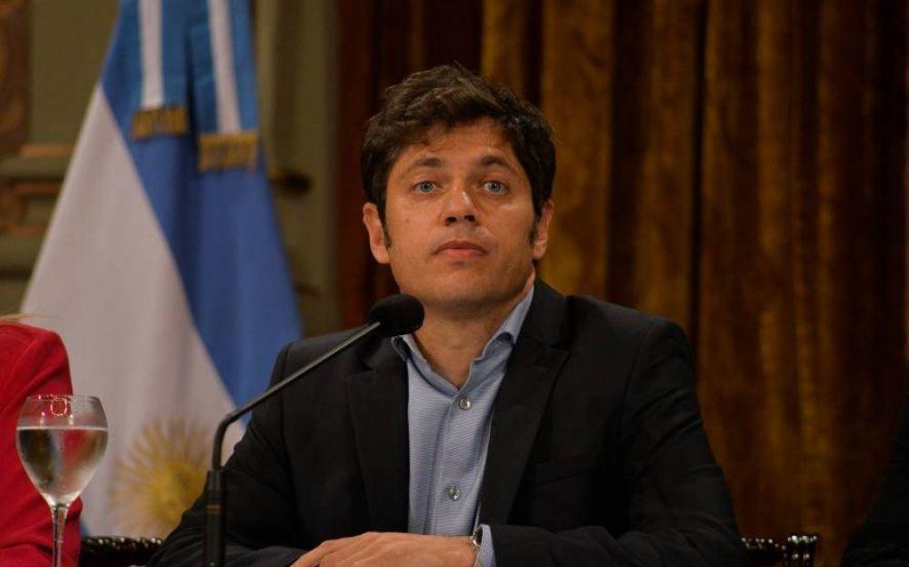 Kicillof no cedería al pedido de los Intendentes