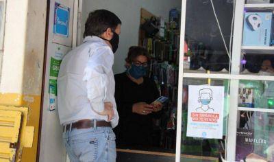 «Sin tapaboca no te vendo», la campaña de los comerciantes contra el coronavirus