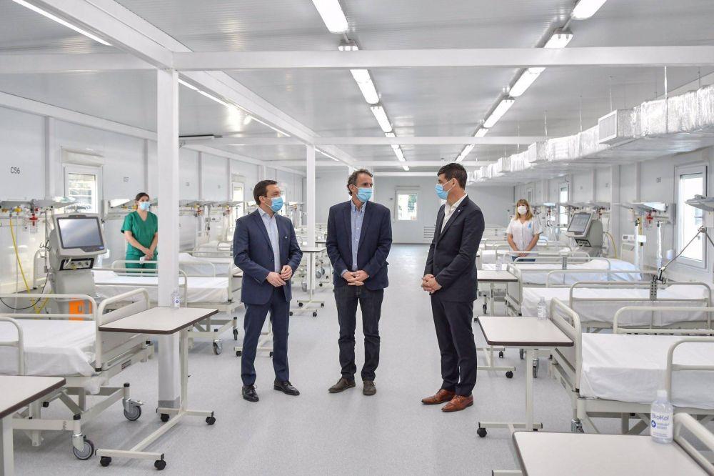 Watson contó los ejes de la visita del ministro Katopodis a Florencio Varela