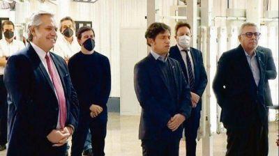 Alberto mueve el péndulo peronista y abraza a Kicillof con su gabinete