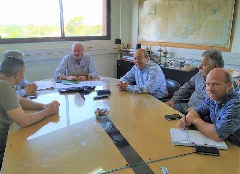 Mar Chiquita: El Intendente Paredi ultima detalles de cara a la puesta en marcha del sistema cloacal