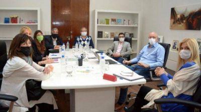 Magario y Gollan evaluaron las necesidades de los hospitales de La Matanza para garantizar la atención por coronavirus