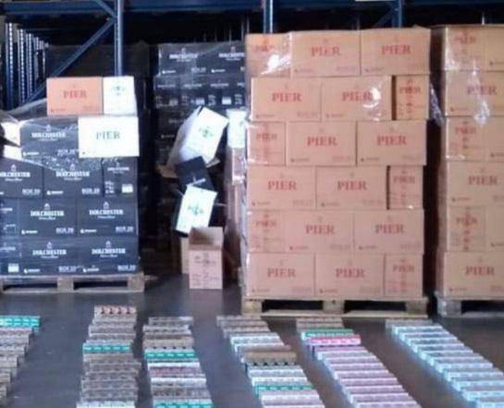 Afip y policía preocupados por los altos índices de tabaco ilegal en argentina