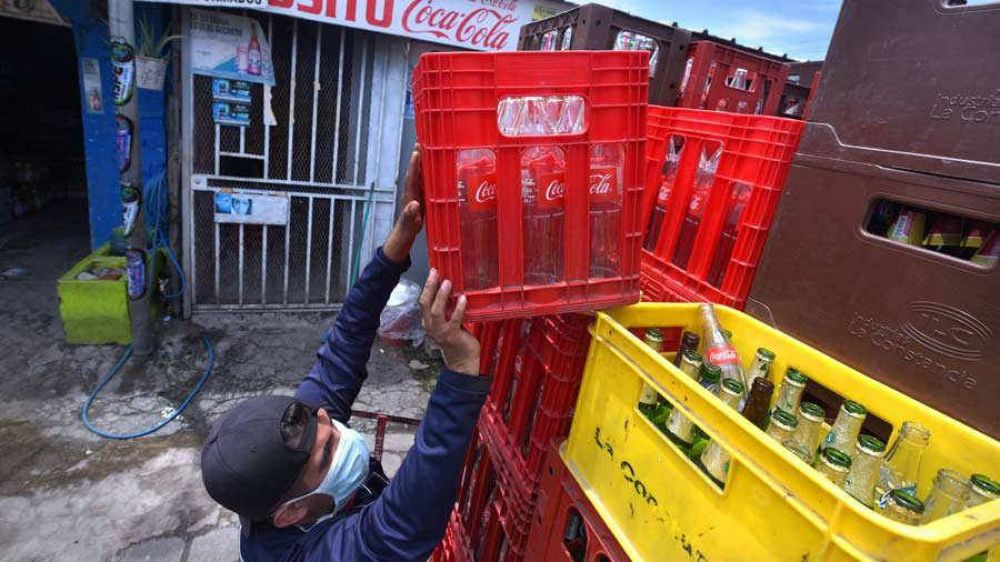 Cervezas y gaseosas ya escasean en los depósitos y tiendas