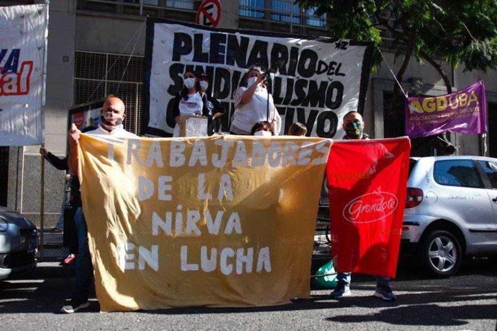 La Matanza | Luego de 7 meses de lucha, lxs trabajadorxs de La Nirva cobrarán los salarios adeudados