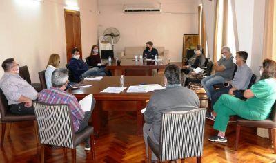 Cañuelas  Palacio Municipal:  Nueva reunión del Comité de Evaluación por el COVID-19