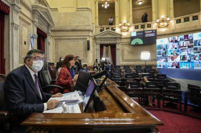 Otra jornada virtual en el Congreso