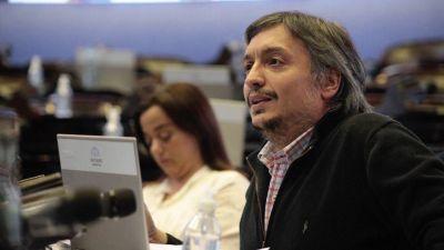 Máximo pulió con Alberto el impuesto a las altas fortunas para tratarlo en el Congreso