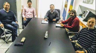 Reunión de Sindicatos con IOMA