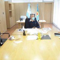 Estatales se reunieron con Larroque para hablar sobre el fortalecimiento de las organizaciones populares