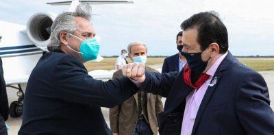 Coronavirus en Argentina: Alberto Fernández le hizo un guiño al interior en su primera gira de la cuarentena