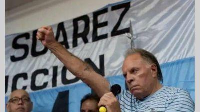 """Omar Suárez: """"Pedimos la restitución del gremio con una cláusula que establezca el pronto llamado a elecciones"""""""