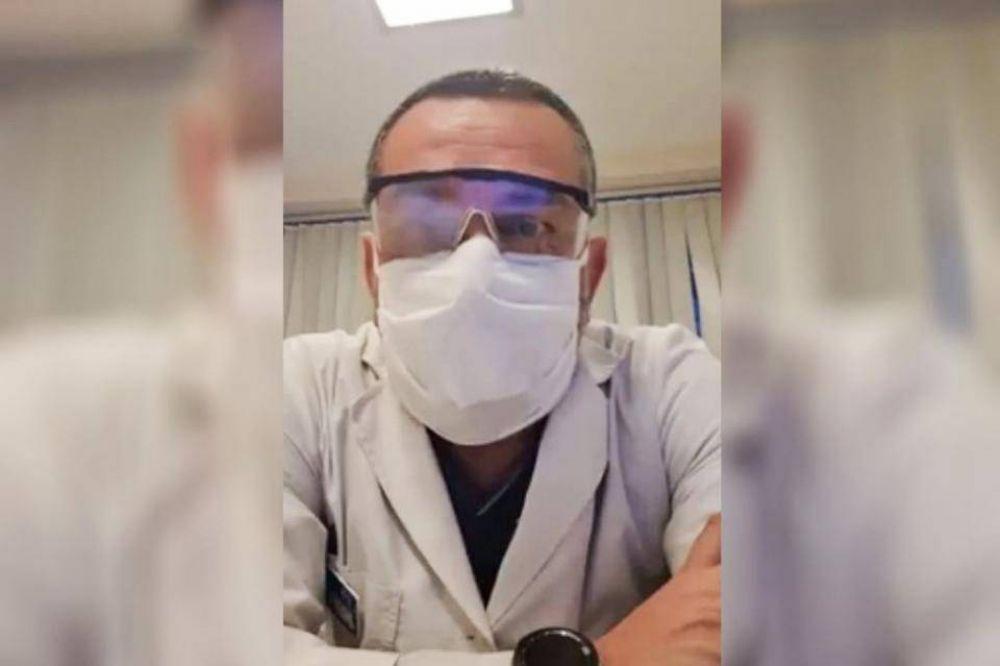 Un médico contra la cuarentena