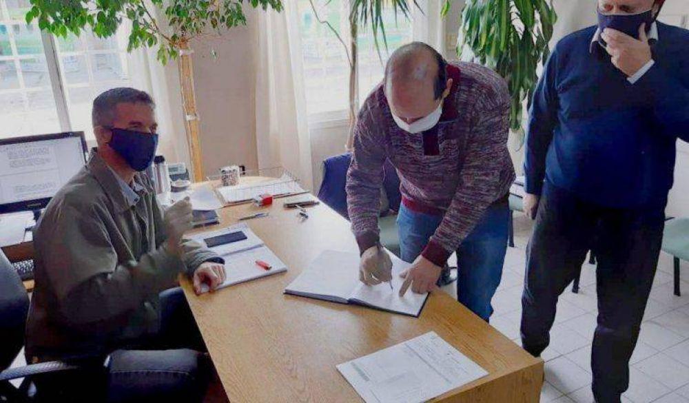 Viedma, Patagones y San Javier constituyeron el directorio del GIRSU, para la gestión de los residuos sólidos