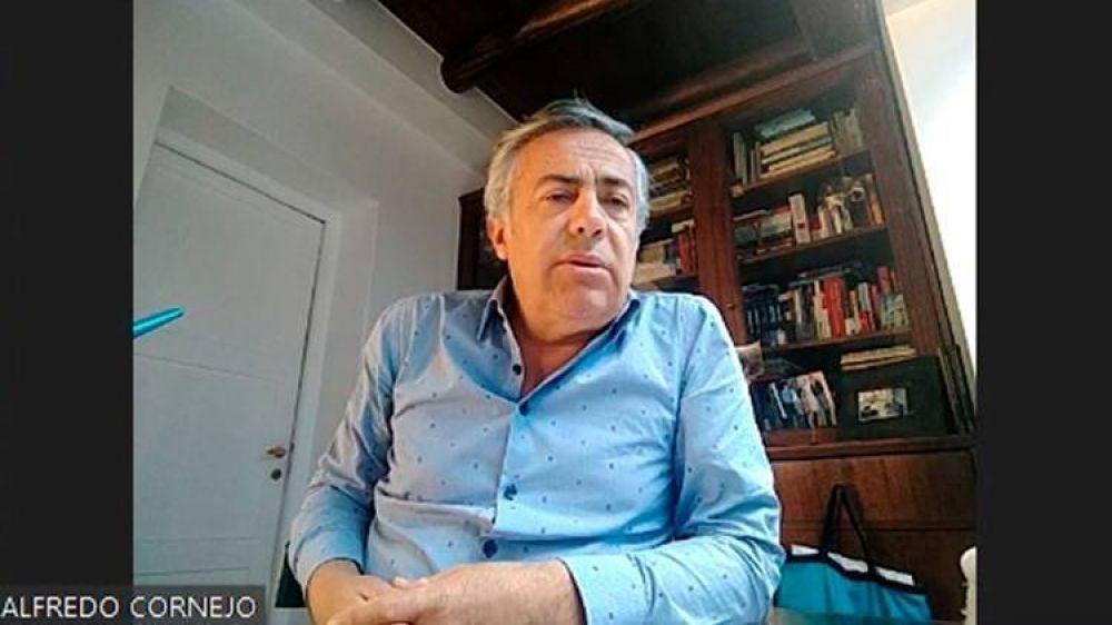 """Alfredo Cornejo: """"Ya sabíamos que Cristina no tiene ningún interés en hacer acuerdos, pero de Alberto teníamos esperanzas"""""""