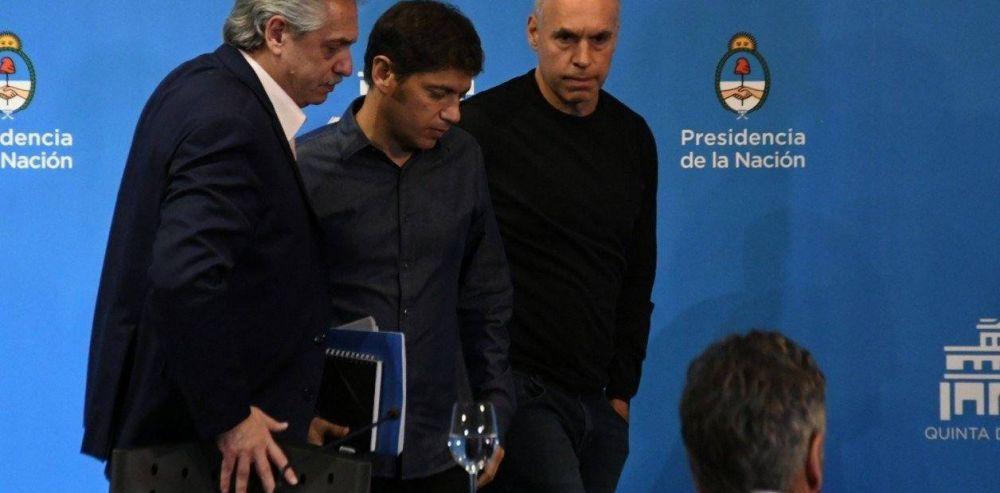 Coronavirus en Argentina: Alberto Fernández-Horacio Rodríguez Larreta-Axel Kicillof, un juego de miedos, chicanas y tensiones