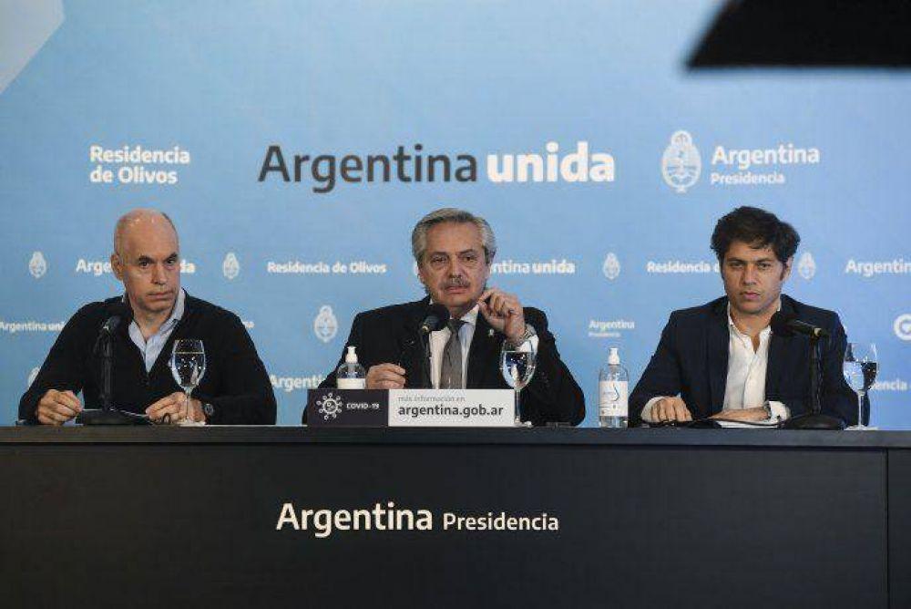 Alberto Fernández anunció que la cuarentena sigue hasta el 7 de junio: