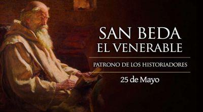 Hoy se celebra a San Beda, cuyas homilías inspiraron el lema del Papa Francisco