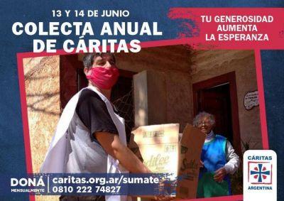 Colecta de Cáritas: Por primera vez, se centrará en donaciones digitales