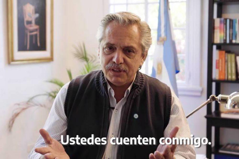 El mensaje de Alberto por el 25 de Mayo: