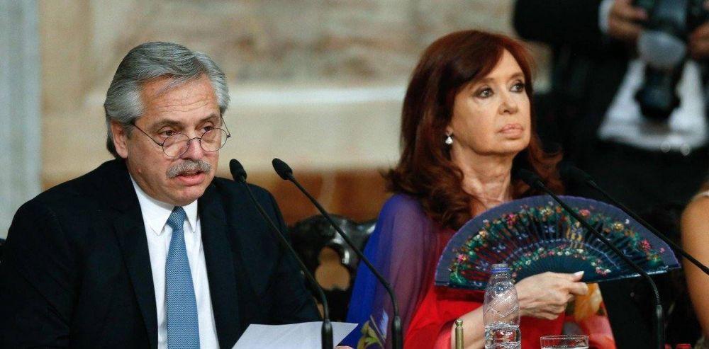 """Alberto Fernández exigió que la Justicia defina dos causas que enfrenta Cristina Kirchner y aclaró que no tiene un """"pacto de impunidad"""""""