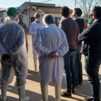 El coronavirus golpea de nuevo en el Frigorífico Santa Giulia: se confirmó otro infectado y ya suman tres casos