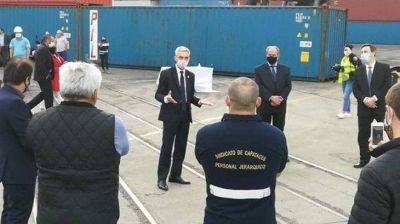 Preocupa detección de casos de coronavirus en el puerto de Buenos Aires