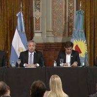 Alberto, Kicillof y los intendentes dan inicio al FIM: cuánto le toca a cada distrito