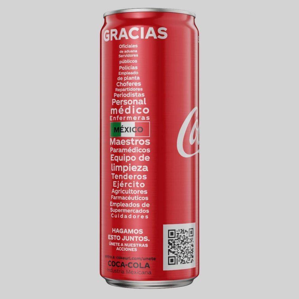 Coca-Cola rediseña sus latas: Así es su nuevo aspecto