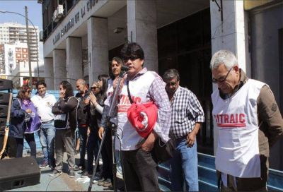 Murió Rubén Almaráz, delegado coordinador del SITRAIC Salta, al finalizar una asamblea en una obra