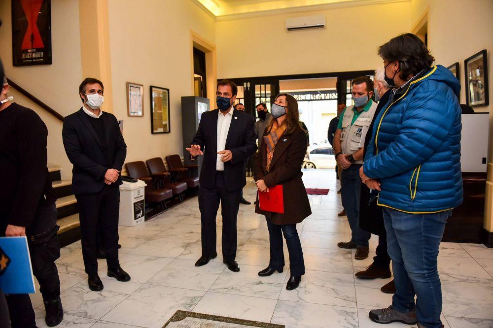 Región Norte 2: Ariel Sujarchuk encabezó la apertura de una capacitación sobre seguridad y salud junto a la ministra Sabina Frederic