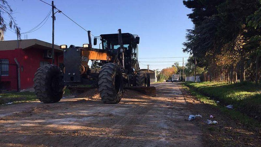 Escobar sigue adelante con obras de mejora y mantenimiento del espacio público en todo el distrito