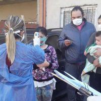 El Municipio realizó control de fiebre a más de 350 vecinos