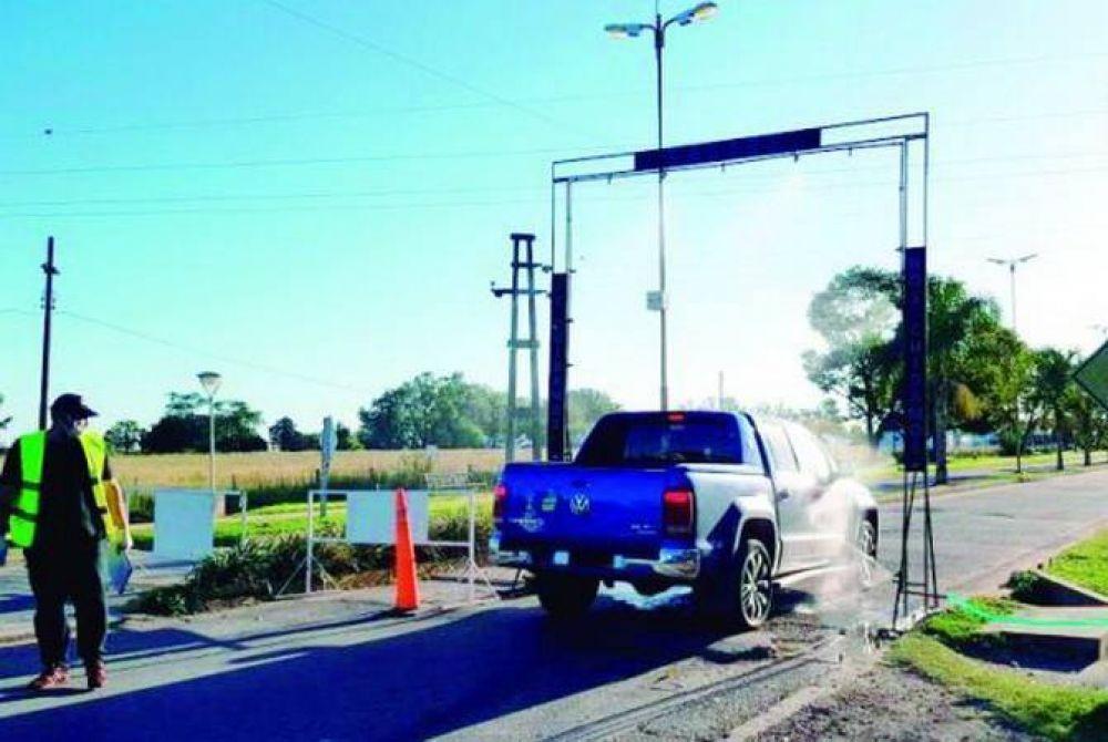 El edil Nicolás Lauria impulsa la instalación de arcos sanitizantes en los accesos a Mar del Plata