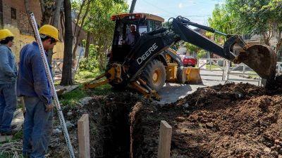 San Isidro: Obra cloacal que beneficiará a 8 mil vecinos de Boulogne y Villa Adelina