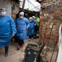 Empujado por los contagios en Villa Azul, Quilmes superó la barrera de los 400 casos de coronavirus