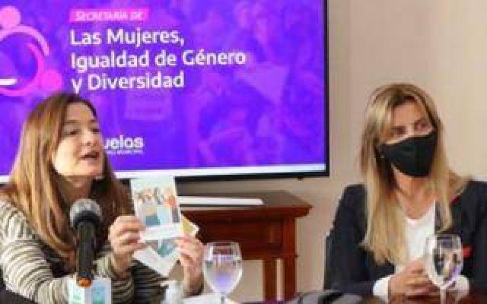 Cañuelas: Díaz y Fassi firmaron convenio para atender casos de violencia de género