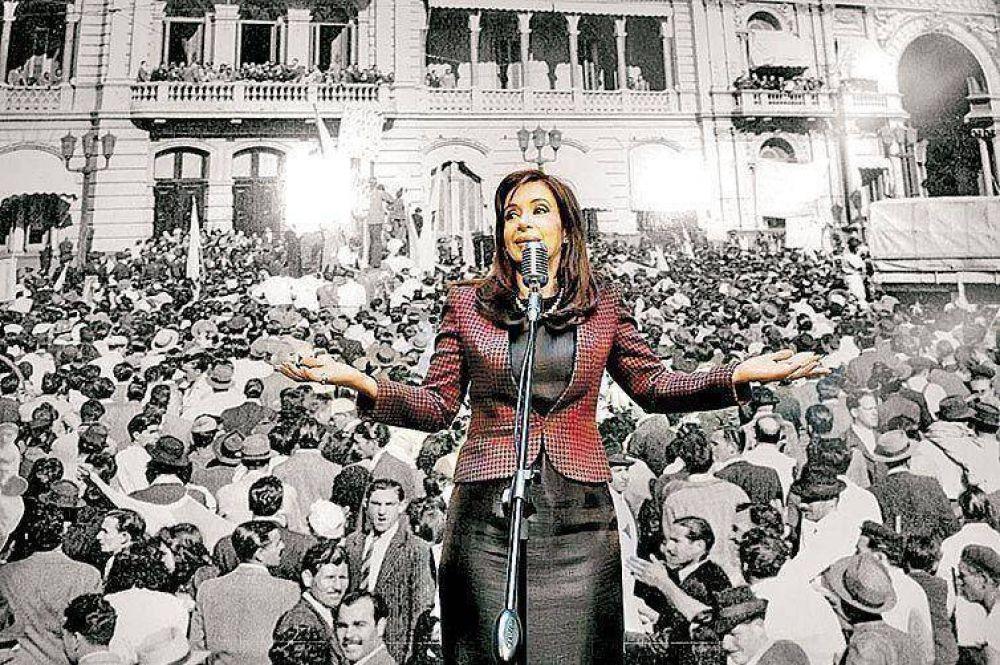 Cristina siguió el debate de la ley de medios por TV y viaja a la India
