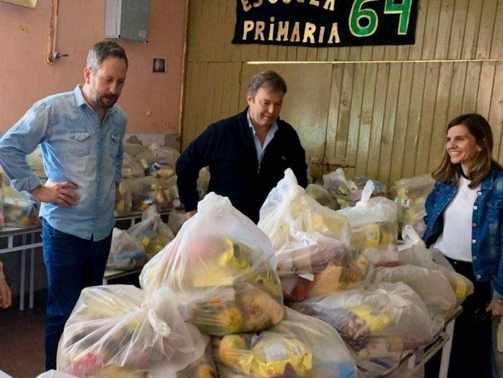 Municipio repartió más de 800 toneladas de alimentos en escuelas