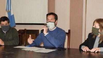 Rojas anunció que buscará renegociar el contrato del servicio de recolección de residuos