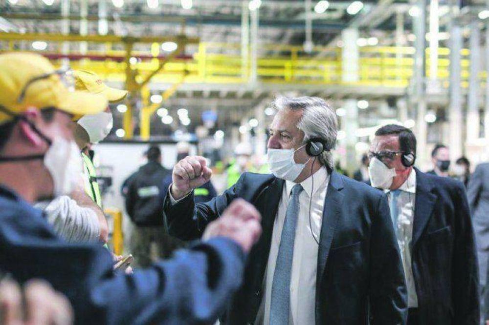 Alberto abre la poscuarentena económica en el conurbano