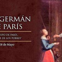 Hoy es fiesta de San Germán de París,